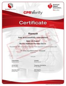 Wall Certificate